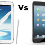 Galaxy Note Vs iPad Mini