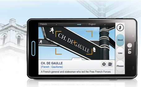LG Optimus L7X - Quicktranslator
